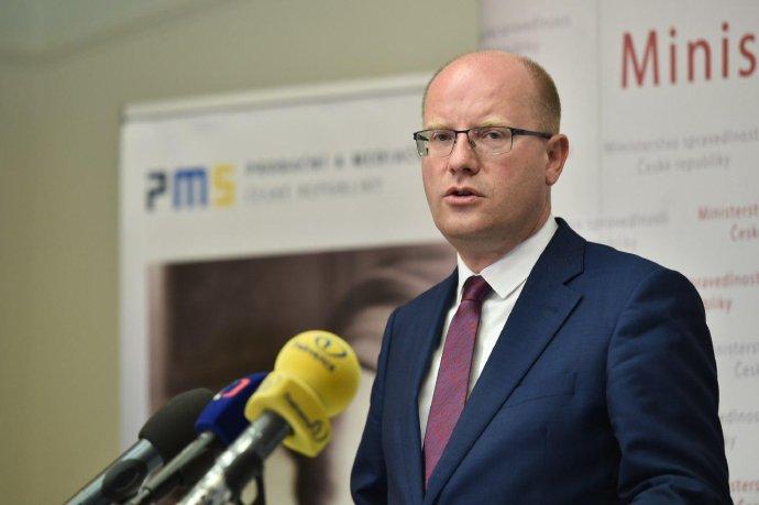 Expremiér Bohuslav Sobotka vysvlékl oranžový trikot. Foto:Vláda ČR
