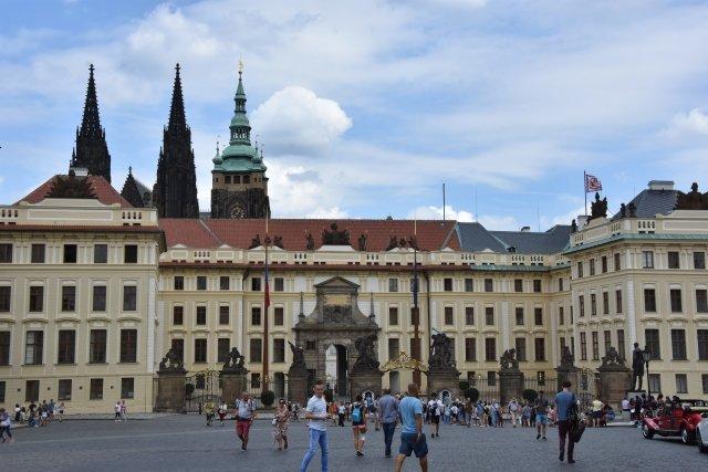 Pražský hrad, ilustrační fotografie. Foto: ČTK
