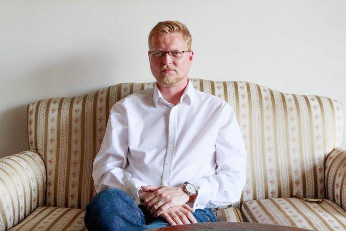 Předseda Komise pro kontrolu činnosti BIS Pavel Bělobrádek (KDU-ČSL). Foto:Adam Hecl