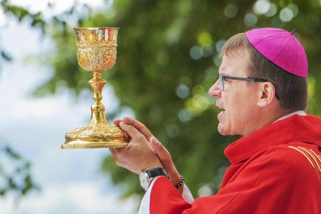 Plzeňský biskup Tomáš Holub. Foto: ČTK