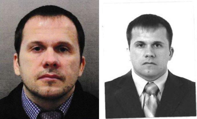 Agent GRU uváděný pod jménem Petrov na fotografii zpasu, zdroj britská Metropolitan Police, azruského státního archivu. Zdroj: Bellingcat