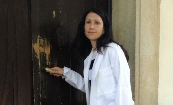 Lékařka Dita Protopopová, kandidátka hnutí ANO. Foto: Hnutí ANO