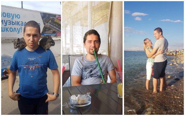 Andrej Babiš mladší na Krymu. Zdroj: Facebook