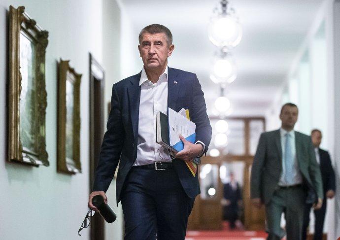 Andrej Babiš je jediným členem vlády, který ze svých požadavků na plán obnovy nemusel ustoupit. Foto: Gabriel Kuchta, Deník N