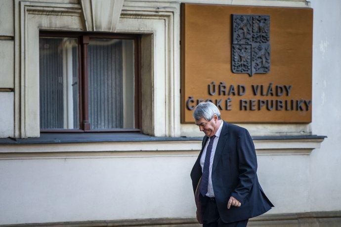 Komunisté spodporou vlády končí, vyplynulo ze schůzky Vojtěcha Filipa spremiérem Babišem. Foto:Gabriel Kuchta, DeníkN