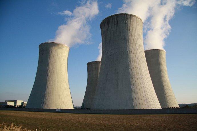 Jaderná elektrárna Dukovany. Foto:Jiří Sedláček, Wikimedia Commons