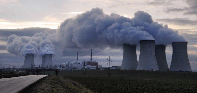 Jaderná elektrárna Dukovany. Foto:ČTK