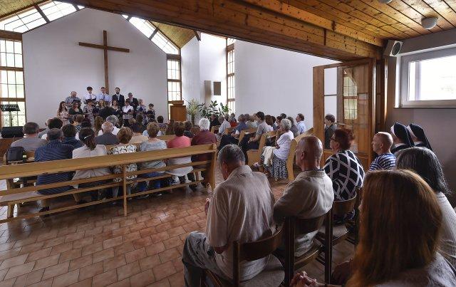 Modlitebna Církve bratrské. Ilustrační foto:ČTK