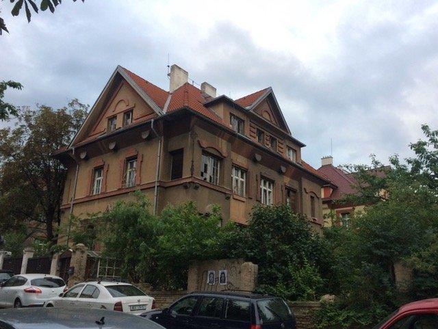 Vila v ulici Na Šafránce. Foto: Úřad městské části Praha 10