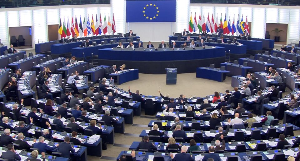 Zasedání Evropského parlamentu. Ilustrační foto, zdroj: EP