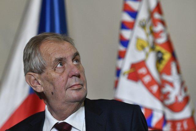 Prezident Miloš Zeman. Foto: ČTK