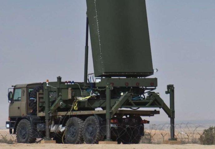 Izraelský radar ELM-2084. Foto: Elta Systems