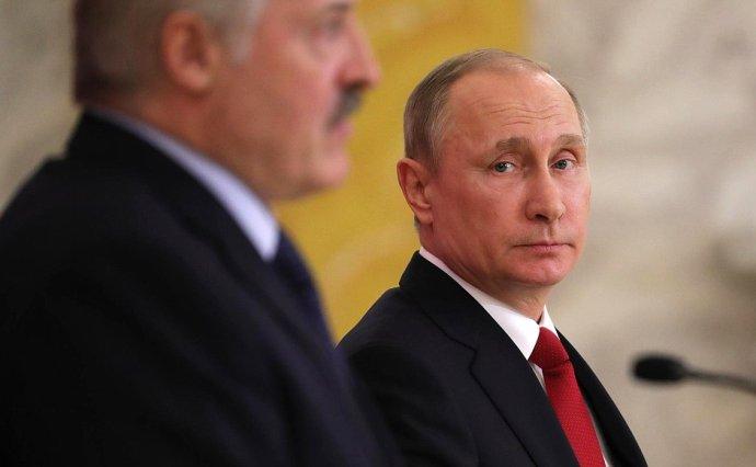 Vladimir Putin aAlexandr Lukašenko si ne vždy úplně rozumějí. Foto:kremlin.ru