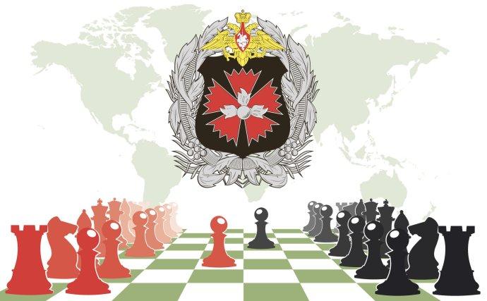 """Operace založené na metodě """"reflexive control"""" jsou zpravidla dobře utkanou simultánní šachovou hrou smnoha šachovnicemi. A ruské rozvědky SVR a GRU jsou v ní skutečným velmistrem. Koláž: redakce, Fotolia"""