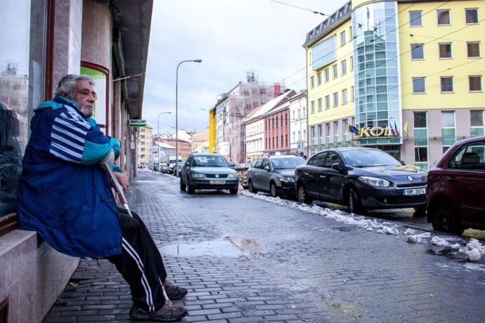 Snímek z Křenové ulice v Brně. Foto: Karolína Poláčková