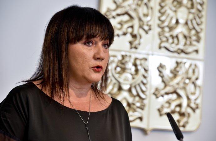 Ministryně financí Alena Schillerová. Foto: ČTK