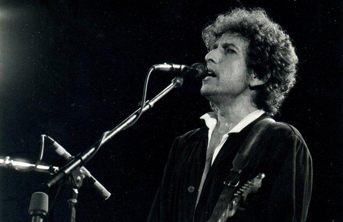 Bob Dylan zamlada. Foto: Xavier Badosa, Wikimedia Commons.