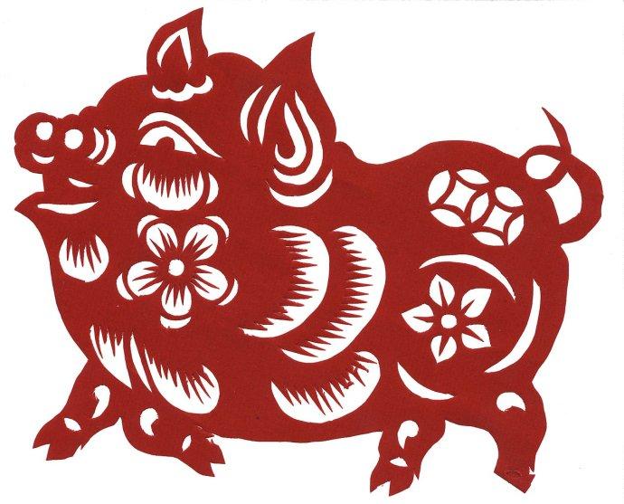 Sin-nian kchuaj-le, Šťastný nový rok! Letos ve znamení Prasete. Foto: Wikimedia CC BY-SA 3.0