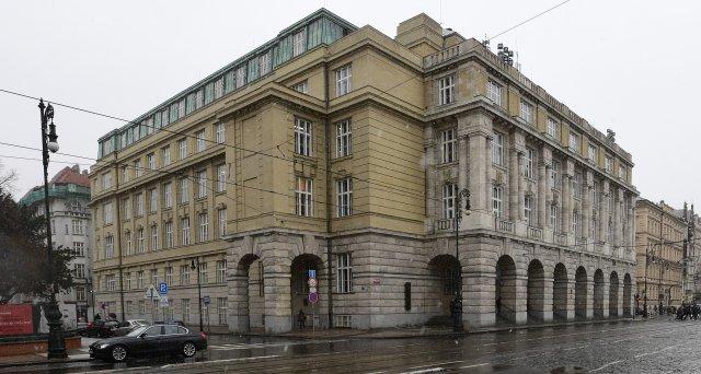 Budova Filozofické fakulty Univerzity Karlovy na náměstí Jana Palacha. Foto: ČTK