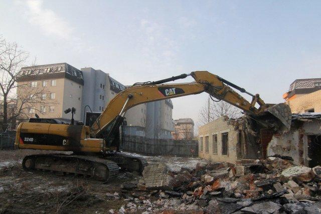 Bude nový stavební zákon znamenat demolici památkové péče? Ilustrační foto ČTK