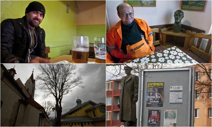 V okrese Svidník vyhrál první kolo prezidentských voleb Štefan Harabin. Foto: Andrej Bán, Denník N