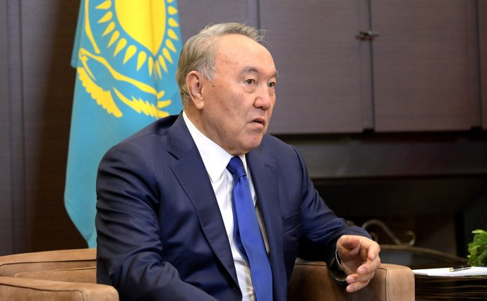 Kazašský prezident Nursultan Nazarbajev. Foto: kremlin.ru