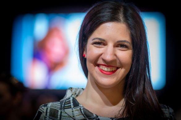 Veronika Gulášová, šéfka kampaně Zuzany Čaputové. Foto:Tomáš Benedikovič, DenníkN