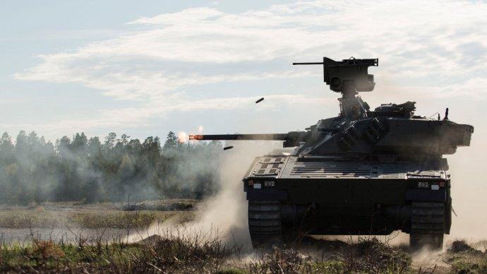 Bojové vozidlo pěchoty CV90výrobce BAE Systems. Foto:BAE Systems