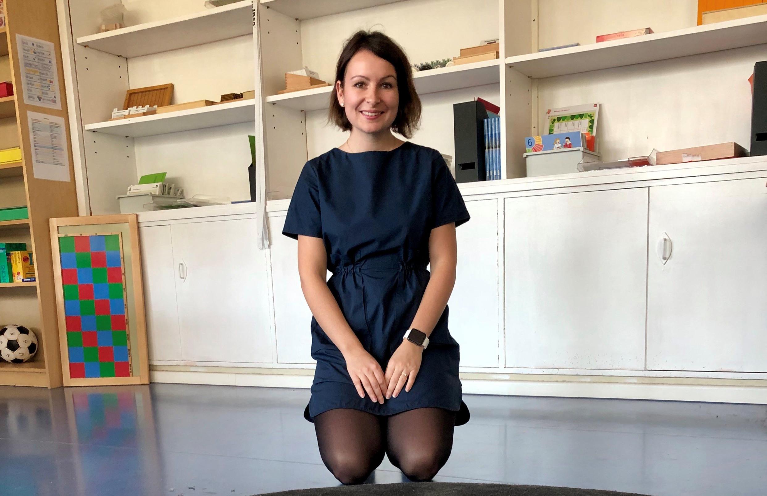 30letá Češka Klára Kunze, která žije v Berlíně od roku 2014 a v současnosti tam pracuje jako učitelka na základní škole. Foto: Veronika Jonášová