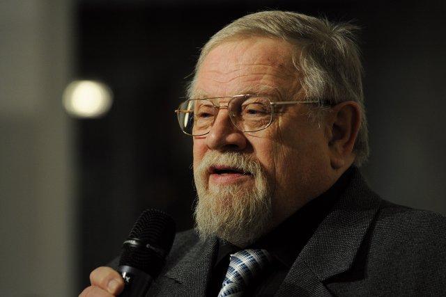 Filosof, bývalý politik a signatář Charty 77 Daniel Kroupa. Foto: ČTK