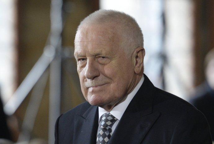 """Václav Klaus: """"Já v žádném případě netvrdím, že jsem bůh."""" Foto: ČTK"""