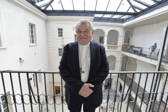 Kardinál Dominik Duka. Foto: ČTK