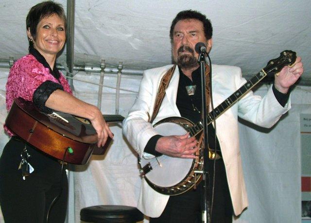 Waldemar Matuška s manželkou Olgou na snímku z koncertu v Miami na Floridě v roce 2005. Foto: ČTK