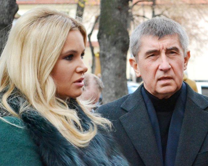 Monika Babišová s manželem Andrejem Babišem. FOTO: CC BY SA 4.0: David Sedlecký via Wikimedia Commons