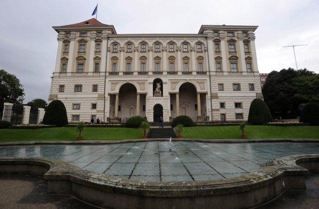 Černínský palác, kde sídlí ministerstvo zahraničí. Foto: ČTK