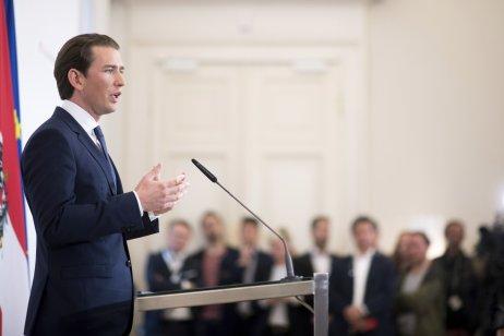 Rakouský kancléř Sebastian Kurz. Foto:Michael Gruber, ČTK/AP