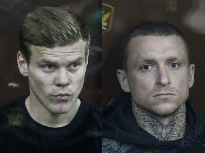 Alexander Kokorin a Pavel Mamajev. Foto: ČTK