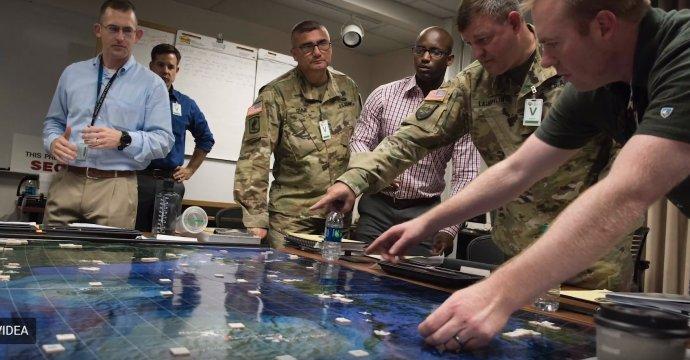 Co udělá protivník, když my uděláme toto? A jak zareagujeme na jeho akce? Foto: Naval Postgraduate School