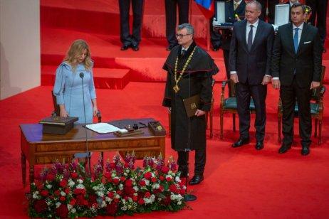 Zuzana Čaputová složila prezidentský slib. Foto:Tomáš Benedikovič, DenníkN
