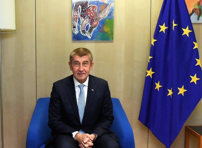 Andrej Babiš v Bruselu v listopadu 2018. Foto: Jennifer Jacquemartová, European Union, 2018, EC - Audiovisual Service