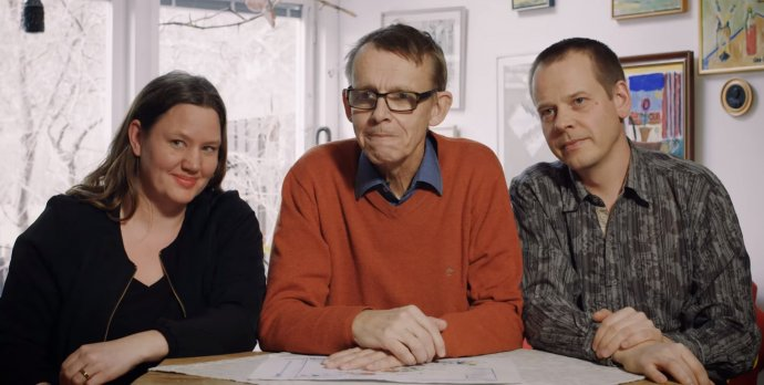 Anna Roslingová-Rönnlundová, Hans Rosling aOla Rosling, rodina, která se rozhodla zlepšit svět pomocí dat ajejich vizualizace. Foto: Gapminder Foundation