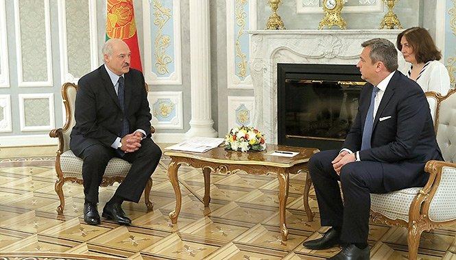 Předseda slovenského parlamentu (Národní rady) Andrej Danko u běloruského prezidenta Alexandra Lukašenka 4. června 2019 v Minsku. Foto: Úřad běloruského prezidenta president.gov.by