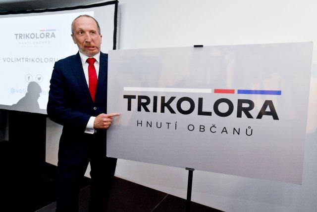 Předseda Trikolóry Václav Klaus mladší. Foto:ČTK