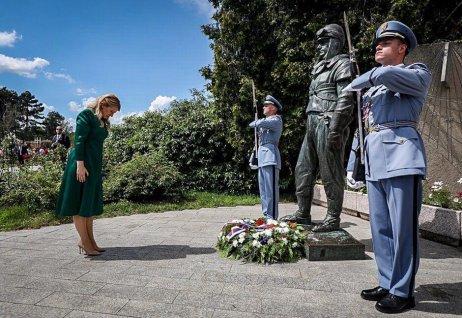 Slovenská prezidebtka Zuzana Čaputová. Foto: Gabriel Kuchta, Deník N