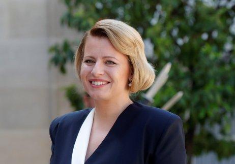 Prezidentka Zuzana Čaputová má za sebou první půl rok ve funkci. V den rozhovoru pro Denník N slovenská policie obvinila bývalého generálního prokurátora Trnku. Foto: Philippe Wojazer, Reuters