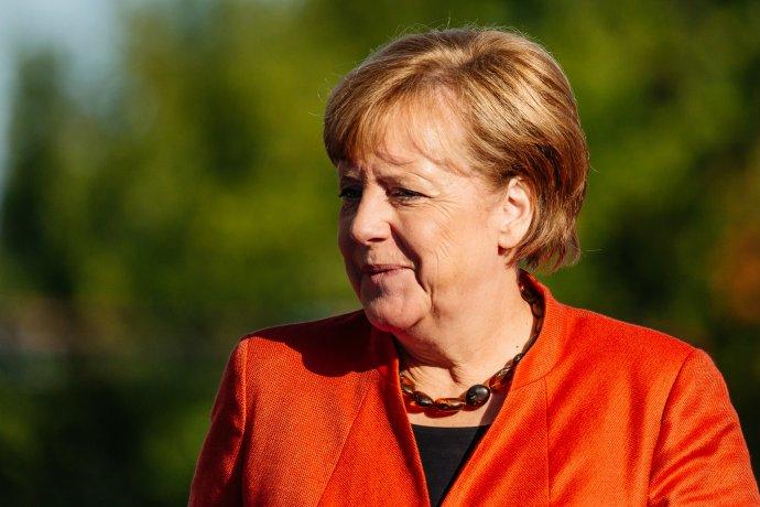 Kancléřka Angela Merkelová. Foto: Arno Mikkor (EU2017.EE), Flickr, CC2.0