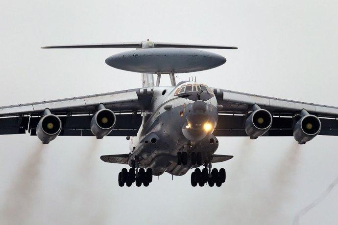 Ruský letoun včasné výstrahy A-50 (ilustrační snímek). Foto: Alex Belťukov, Wikimedia CC BY-SA 3.0