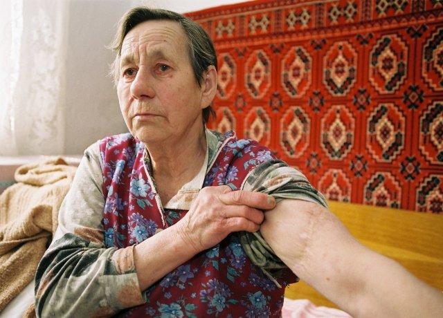 Věra Sosnarová na snímku zroku 2005. Foto:Drahoslav Ramík, ČTK