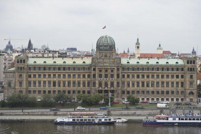 Sídlo ministerstva průmyslu a obchodu. Foto: Michal Kamaryt, ČTK