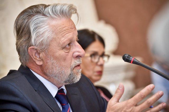 Exsenátor a exposlanec za ČSSD František Bublan, o jehož zvolení do Rady Ústavu pro studium totalitních režimů rozhodoval Senát. Foto: ČTK